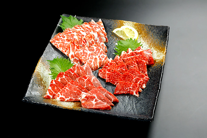 馬刺し食べ比べセット 竹 イメージ